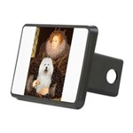 The Queen's Bolognese Rectangular Hitch Cover