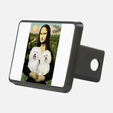 Mona's 2 Bolognese Hitch Cover