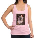 Ophelia & Boston Terrier Racerback Tank Top