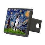 Starry Night Boston (#2) Rectangular Hitch Cover