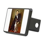 Lincoln & his Boxer Rectangular Hitch Cover