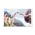 Creation of the Boxer Rectangle Car Magnet