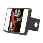 Lady & Boxer Rectangular Hitch Cover