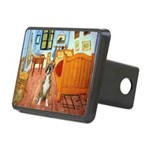 Room with a Boxer Rectangular Hitch Cover