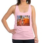 Room with a Boxer Racerback Tank Top