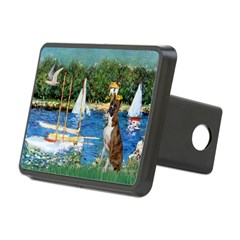 Sailboats & Boxer Hitch Cover