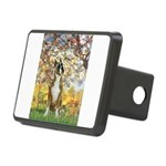 Spring with a Boxer Rectangular Hitch Cover
