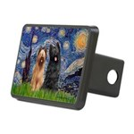 Starry - 2 Briards Rectangular Hitch Cover