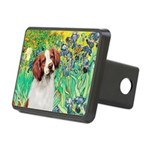 Irises/Brittany Rectangular Hitch Cover