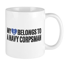 My Heart Navy Corpsman Mug