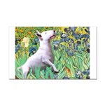 Irises / Bully #3 Rectangle Car Magnet