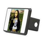Mona's Bull Terrier Rectangular Hitch Cover