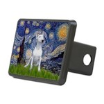 Starry/Bull Terrier (#4) Rectangular Hitch Cover