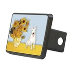 Sunflowers / Bully #4 Rectangular Hitch Cover