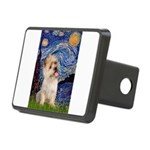 Starry Night / Cairn Terrier Rectangular Hitch Cov