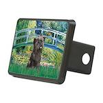 Bridge /Cairn Terrier (w) Rectangular Hitch Cover