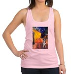 Cafe / Catahoula Leopard Dog Racerback Tank Top