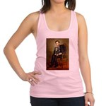 Lincoln & his Cavalier (BT) Racerback Tank Top