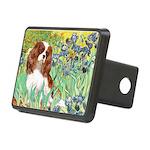 Irises & Cavalier Rectangular Hitch Cover