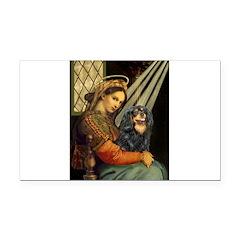 Madonna & Cavalier (BT) Rectangle Car Magnet
