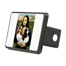 Mona's 2 Cavaliers Hitch Cover