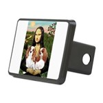 Mona's 2 Cavaliers Rectangular Hitch Cover
