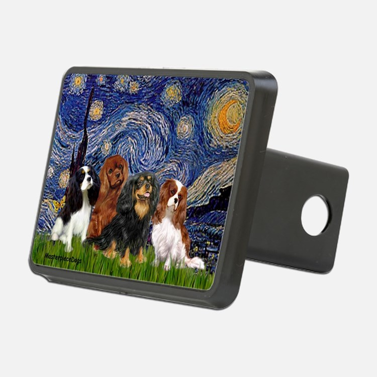Starry / 4 Cavaliers Hitch Cover