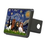 Starry / 4 Cavaliers Rectangular Hitch Cover