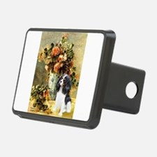 Flowers & Tri Cavalier Hitch Cover