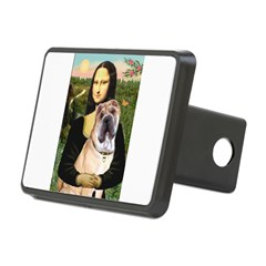 Mona Lisa's Shar Pei (#5) Rectangular Hitch Cover