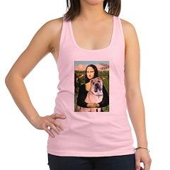 Mona Lisa's Shar Pei (#5) Racerback Tank Top