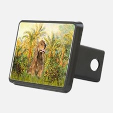 Palms/Cocker Spaniel (brown) Hitch Cover