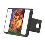 Angel (3) & Cocker (7) Rectangular Hitch Cover
