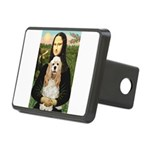 Mona Lisa / Cocker Spaniel Rectangular Hitch Cover