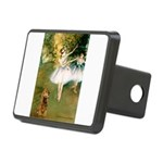 Dancers / Cocker (brn) Rectangular Hitch Cover