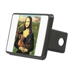 Mona Lisa's Dachshunds Rectangular Hitch Cover