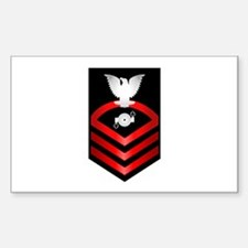 Navy Chief Boiler Technician Sticker (Rectangle)