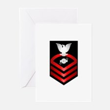 Navy Chief Boiler Technician Greeting Cards (Pk of