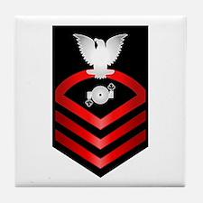 Navy Chief Boiler Technician Tile Coaster