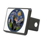 Starry Night Doberman (#1) Rectangular Hitch Cover