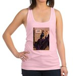 Mom's Doberman (#1) Racerback Tank Top
