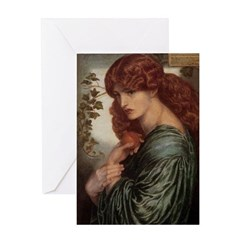 Proserpine by Rossetti Greeting Card