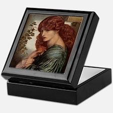 Proserpine by Dante Gabriel Rossetti Keepsake Box