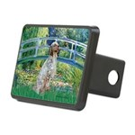 Bridge / English Setter Rectangular Hitch Cover