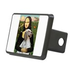 Mona's English Setter Rectangular Hitch Cover