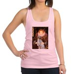 Queen / English Setter Racerback Tank Top