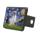 English Setter / Starry Night Rectangular Hitch Co