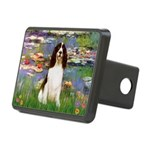 Lilies / Eng Spring Rectangular Hitch Cover