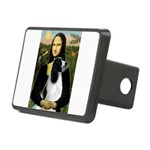 Mona Lisa/English Springer Rectangular Hitch Cover