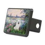 Seine / Eskimo Spitz #1 Rectangular Hitch Cover